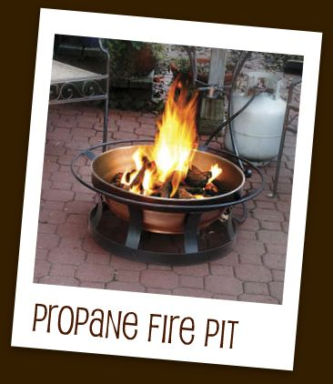 how to run a propane gas line to a fireplace